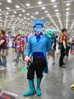 Otakon 2012 - Blue Rabbit Cosplay by Angel1224