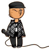 danny the tiny plaid slenderman by scenikeight