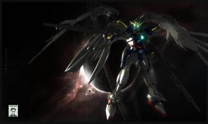 Another Wing Zero Kai by ssejllenrad2