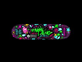 SKATEBOARD | Tonight Alive by vainsan
