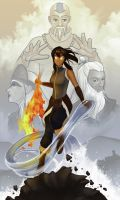 Avatar:The Legend of Korra by daPatches