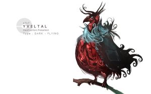 Yveltal by MrRedButcher
