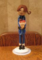 North Italy clothespin doll by Kasandra-Callalily