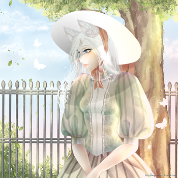Aurora victoriana + Speed paint by AmySweetWolf