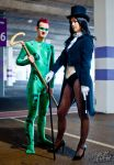 The Riddler and Zatanna by Leonie-Heartilly