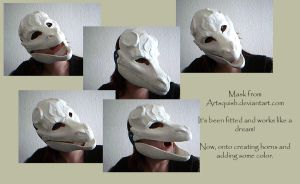 Dragon Mask by SagaWolf