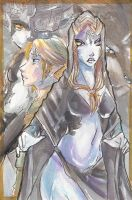LoZ:Twilight Princess Painting by Busoni