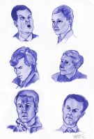 Studies in Sherlock by Mad-Hattie