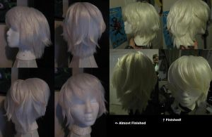 Near Wig Progress by xHee-Heex
