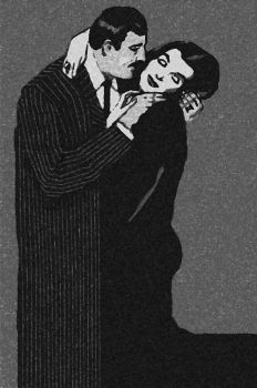 Gomez and Morticia Addams by DrNealAxe