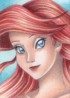 ACEO Ariel by Rooro22