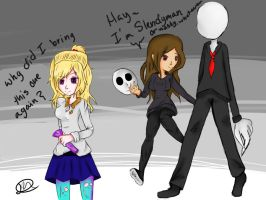Music with Slendyman and Slenderman by Musicallychalanged