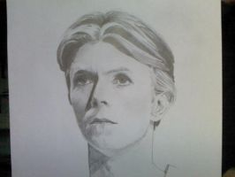 David Bowie by JustSomeScribbles