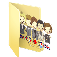 One Direction - Folder by 1DLoverr