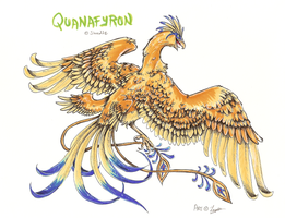 Quanafyron - Art Trade by RadonKalmor