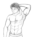 Zuko - Pencil practice by piplupiloveyou