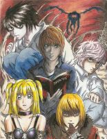 Death Note by ShikoSyaoran