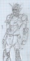 Mobile suit Gundam 1337 by Omnoproxyl337