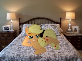 Applejack is waiting... by HAchaosagent