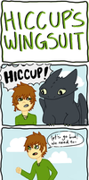 Hiccup's Wingsuit by Maye-Art