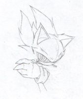 UF- Fleetway Super Sonic by demented1