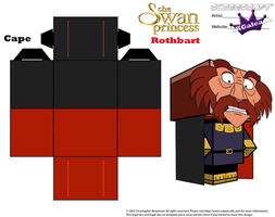 Cubeecraft of Rothbart from The Swan Princess PT2 by SKGaleana