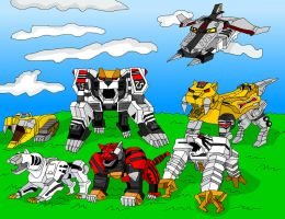 Zords - Tigers by LavenderRanger