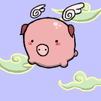 When Pigs Fly by Mags-Pi
