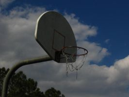 basketball hoop by pianoanimato