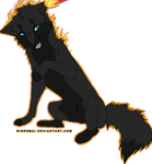[CLOSED] Fire Wolf Adopt by xMadDuck