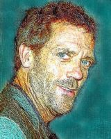 Hugh Laurie glance by NeonGlo