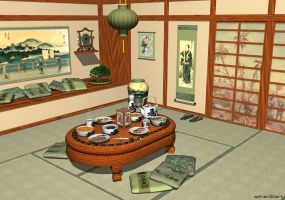 Oriental Room by adrian3Dart