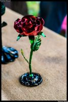 Rose: Red by SaronniSimon