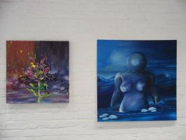 Tradtitional paintings by azurylipfe