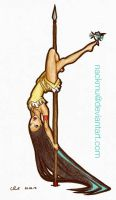 Poca'Pole Dance by nackmu