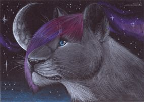 Lioness of the Moon - Trade by PoonieFox