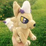 baker plushie - foxpill by eellie