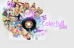 colorfull shit. by aquite
