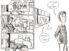 Day Dreamers comic strip by alexhdunn