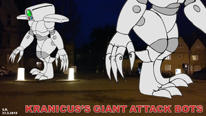 Kranicus's Giant Attack Bots by Megamink1997