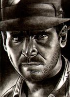 Indiana Jones - Commission by RandySiplon