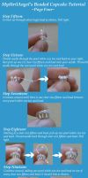 Beaded Cupcake Tutorial P4 by MythrilAngel