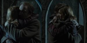 Remus and Tonks by MissPadfoot-88