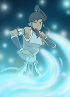 The Legend of Korra by KatieBrownie