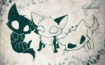 Green Cats ID by GaluSs