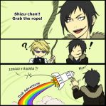 IZAYA and SHIZUO - Grab Meme by Washu-M