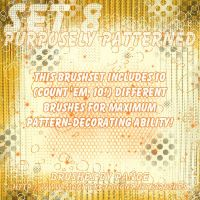 Set 08 - Purposely Patterned by pange