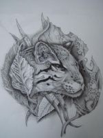 cat by vstattoo