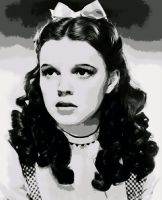 Judy Garland Wizard Of Oz Paint By Number Art Kit by numberedart