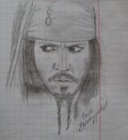 Jack Sparrow by Faye-Stormypetrel